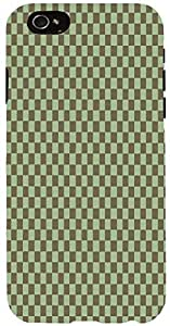 Snoogg chequered pattern design 1092 Case Cover For Apple Iphone 6 iphone 6
