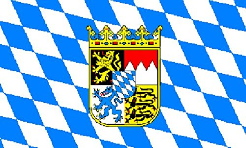 bavaria-with-crest-flag-5ft-x-3ft-large-100-polyester-metal-eyelets-double-stitched