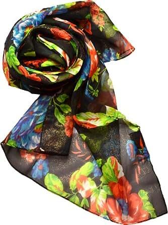 big buddha womens oblong scarf black at s