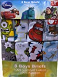 Boy's Briefs (Pack of 8) - Disney Theme
