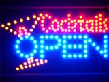 ADV-PRO-led134-b-Cocktails-OPEN-Bar-Led-Neon-Sign-WhiteBoard
