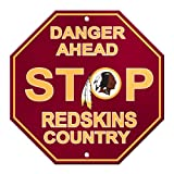 NFL Washington Redskins Stop Sign