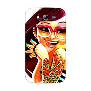 Samsung Grand Cover - Hard plastic luxury designer case for Grand -For Girls and Boys-Latest stylish design with full case print-Perfect custom fit case for your awesome device-protect your investment-Best lifetime print Guarantee-Giftroom 284