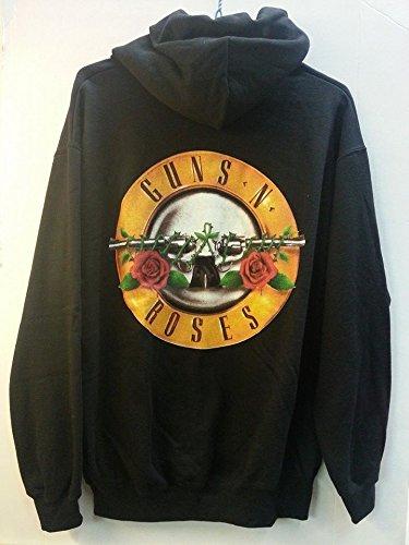 GUNS 'N ROSES FELPA LOGO UNISEX TG. M Guns 'n Roses