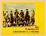 The Magnificent Seven Poster Movie O 11 x 14 In - 28cm x 36cm Yul Brynner Steve McQueen Robert Vaughn James Coburn Charles Bronson Horst Buchholz