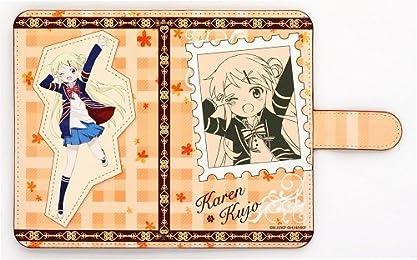 ハロー!!きんいろモザイク 手帳型スマートフォンケース 九条カレン