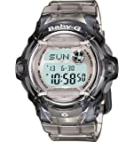 "Casio Womens BG169R-8 ""Baby-G"" Gray Resin Sport Watch"