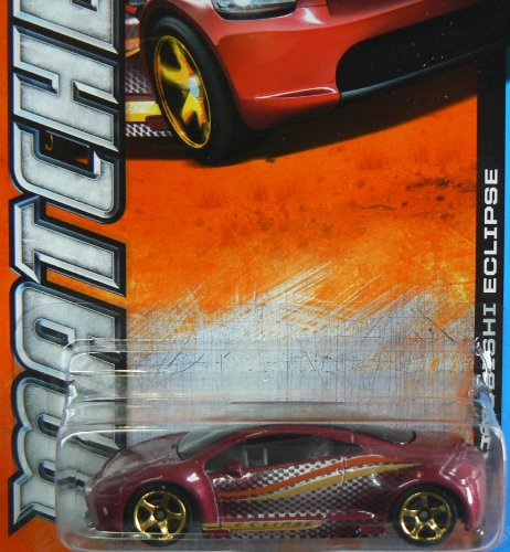 Matchbox MBX Adventure City 103 of 120 Mitsubishi Eclipse - 1