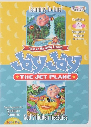Jay Jay the Jet Plane - Learning to Trust and God's Hidden Treasures