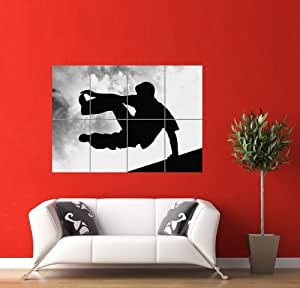 parkour free running giant panel poster plakat druck art print picture pr166. Black Bedroom Furniture Sets. Home Design Ideas