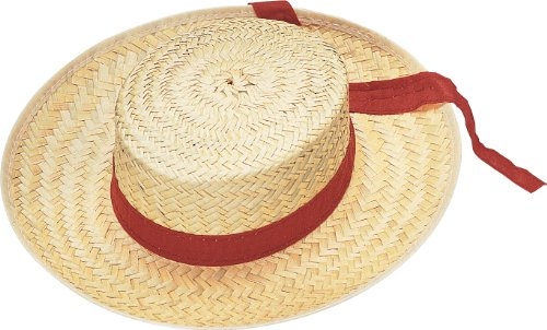 Rubie's Costume Men's Straw Gondolier Hat, Multi, One Size