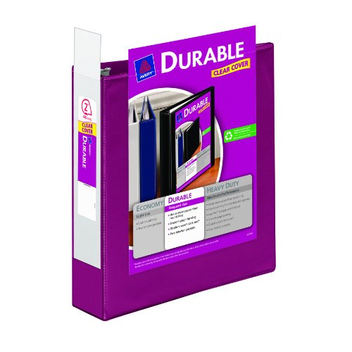 Avery Durable View Binder With 2 Inch Rings Pink 1