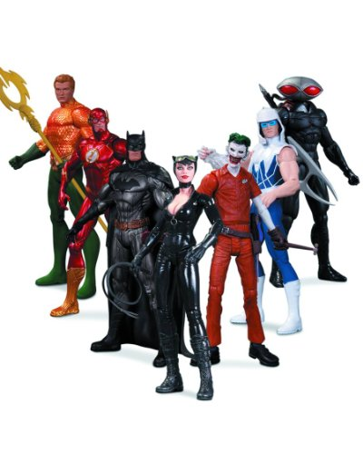 DC Comics New 52 Super Heroes Vs Super Villains Action Figure Box Set