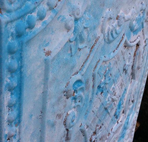 pl04imitation peinture 3D plafond Motif carreaux Blanc vieilli Cafe Pub Shop Art Décoration murale panneaux 10pieces/Lot