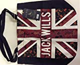 Jack Wills haberton Union Jack book bag