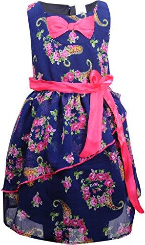 BIO-KID-Girls-Dress-(BTG-626-122,-Navy,-6-7Y)
