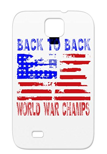 Back To World War ChampS Pink Protective Case For Sumsang Galaxy S4 American Holidays Occasions BACK TO WORLD WAR CHAMPIONS Champions United States Of America Patriotic Patriot Flag Flags Champi Patriotic United States America July 4th American Undefeated