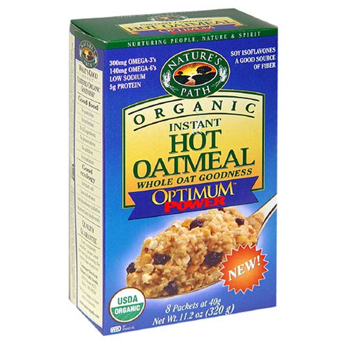 Nature's Path Organic Instant Hot Oatmeal, Optimum