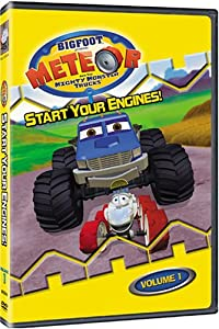 Bigfoot Presents Meteor and the Mighty Monster Trucks: Start Your Engines, Vol. 1