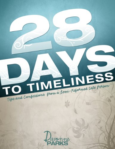 28 Days to Timeliness cover
