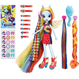 My Little Pony Equestria Girls Radical Hair Rainbow Dash