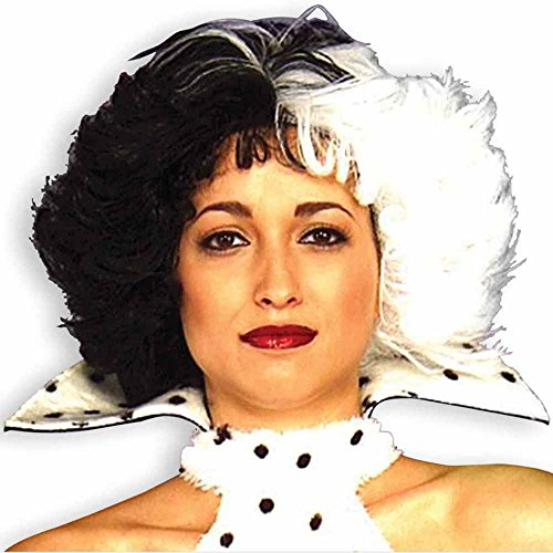 Cruella: Dog Loving Diva Adult Wig
