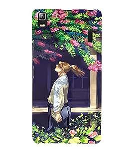 EPICCASE Garden Mobile Back Case Cover For Lenovo A7000 (Designer Case)