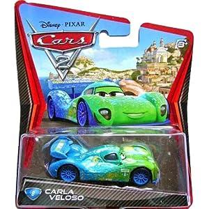 disney pixar cars 2 movie 155 die cast car 8 carla veloso - The Christmas Gift Movie Cast