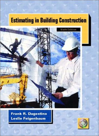 Estimating in Building Construction (6th Edition) - Prentice Hall - 0130604054 - ISBN:0130604054