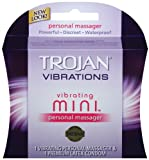 Perfect for powerful & focused stimulation - Trojan Vibrating Mini Personal Massager, 1-count