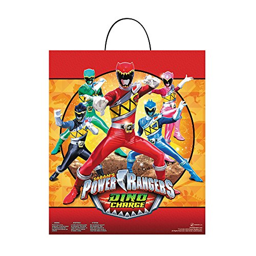 Disguise Power Ranger Dino Charge Essential Treat Bag Costume - 1