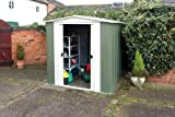 Rowlinson 10 x 8ft Metal Apex Shed