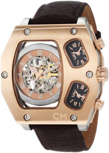 Carlo Monti - CM106-305 - Montre Homme - Automatique - Analogique - Bracelet cuir Marron