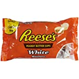 Reese's Peanut Butter Cups, White Chocolate Miniatures, 12-Ounce Bag
