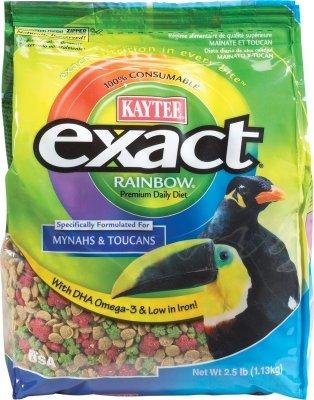 Cheap Brand New, KAYTEE PRODUCTS, INC. – SOFTBILL EXACT RAINBOW 2.5 LB (MYNAH/TOUCAN) (BIRD PRODUCTS – BIRD – FOOD: SEEDS & PELLETS) (MSSKT47221-LT|1)