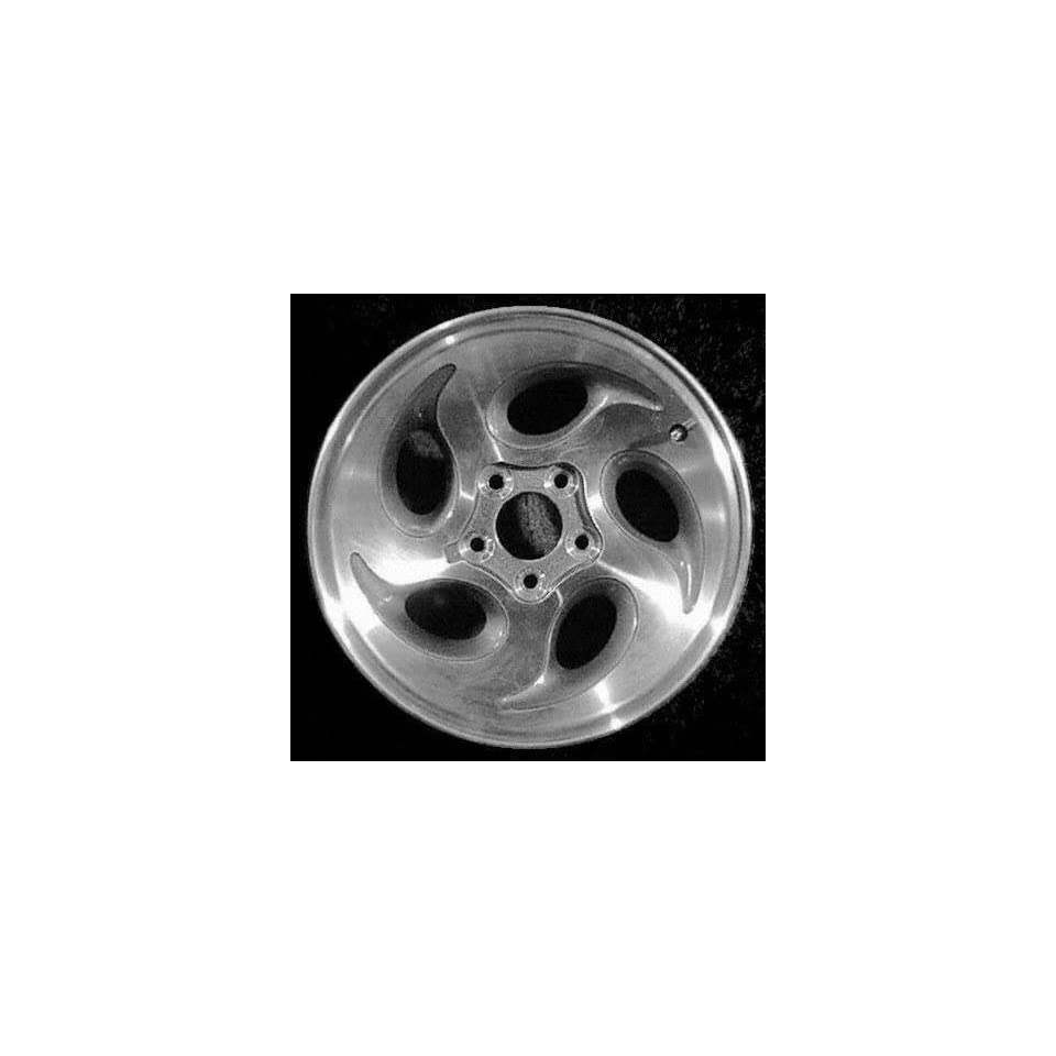 95 98 FORD RANGER ALLOY WHEEL (PASSENGER SIDE) = (DRIVER RIM 15 INCH TRUCK, Diameter Width 7 (5 TEAR) SILVER 1 Piece Only (1995 95 1996 96 1997 97 1998 98) ALY03186U10N