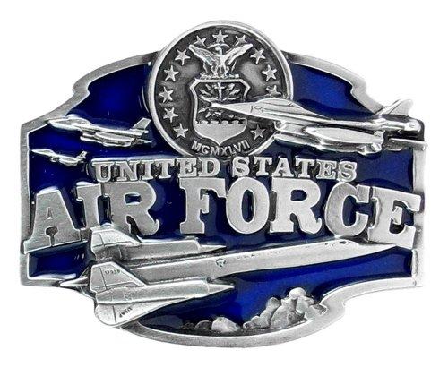 Air Force Falcons Pewter Belt Buckle - NCAA College Athletics Fan Shop Sports Team Merchandise