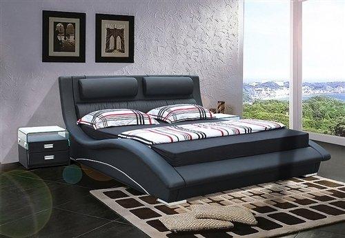 Black Wooden Beds 178 front