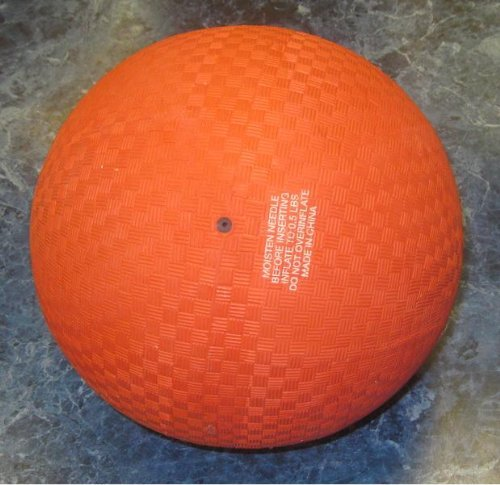 9'' Heavy Rubber Inflated Ball by MD Wholesalers - 1