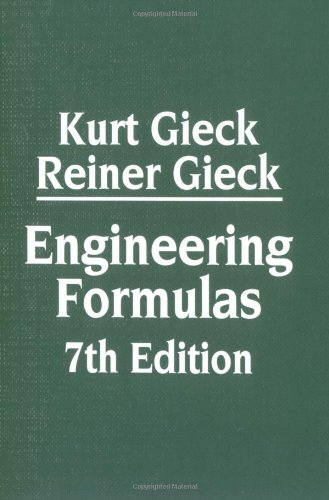 Engineering Formulas 7th Edition