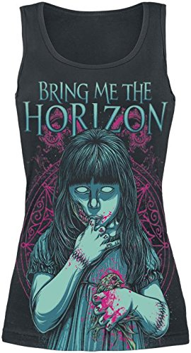 Bring Me The Horizon My Little Devil Top donna nero M