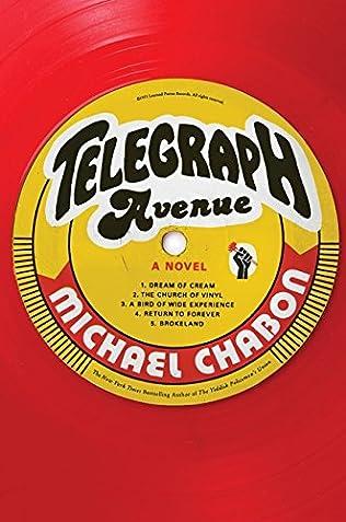 book cover of Telegraph Avenue