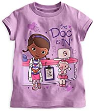 Disney Store Little Girls Doc McStuffins and Lambie Tee