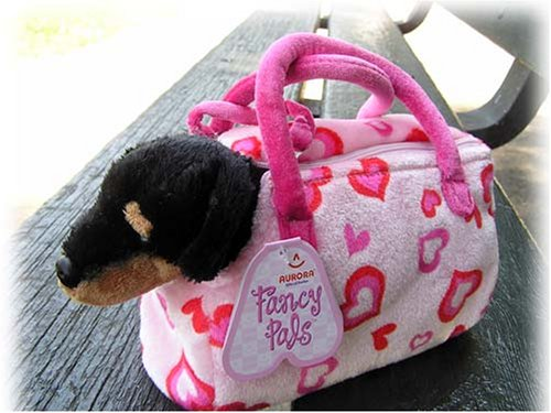 Aurora Plush Dachshund in Carrier Bag - Buy Aurora Plush Dachshund in Carrier Bag - Purchase Aurora Plush Dachshund in Carrier Bag (Aurora, Toys & Games,Categories,Pretend Play & Dress-up)
