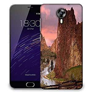 Snoogg Pathway For Water Designer Protective Phone Back Case Cover For Meizu M2