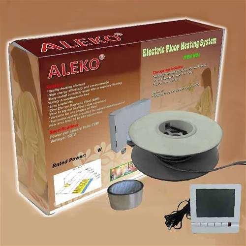 ALEKO Electric Tile Radiant Warm Floor Heat Heated Kit 850W 70 SQFT (Heated Tile Floor compare prices)