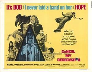 Cancel My Reservation Movie Poster (11 x 14 Inches - 28cm x 36cm) (1972) Style A -(Bob Hope)(Eva Marie Saint)(Ralph Bellamy)(Anne Archer)(Forrest Tucker)(Keenan Wynn)