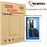 Aomax® For SAMSUNG Galaxy Tab 2 10.1 P5100 P5110 P5113 N8000 Tempered Glass Screen Protector [Superslim 0.26mm,9H Hardness] [Retail Package] P5100 Glass
