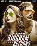 Singham Returns - 2014 Bollywood Movie Audio CD / OST