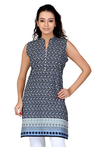 Lifestyle Lifestyle Retail Women Cotton Printed Kurti (Multicolor)